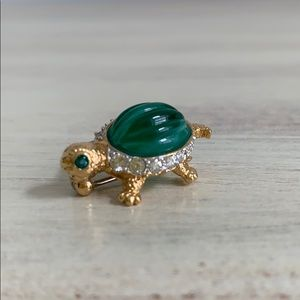 Vintage Carolee Turtle Pin
